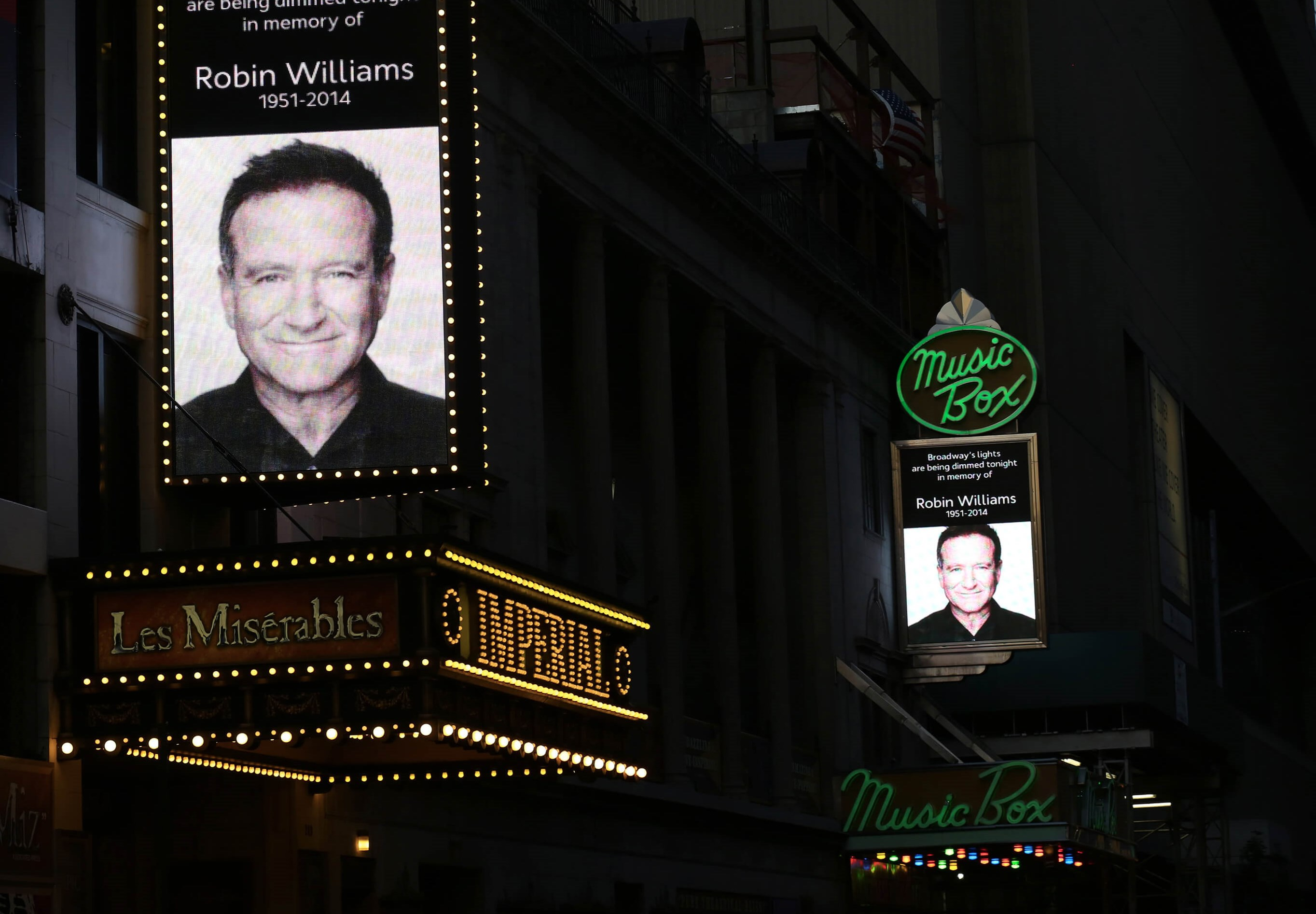 Broadway Honors Robin Williams