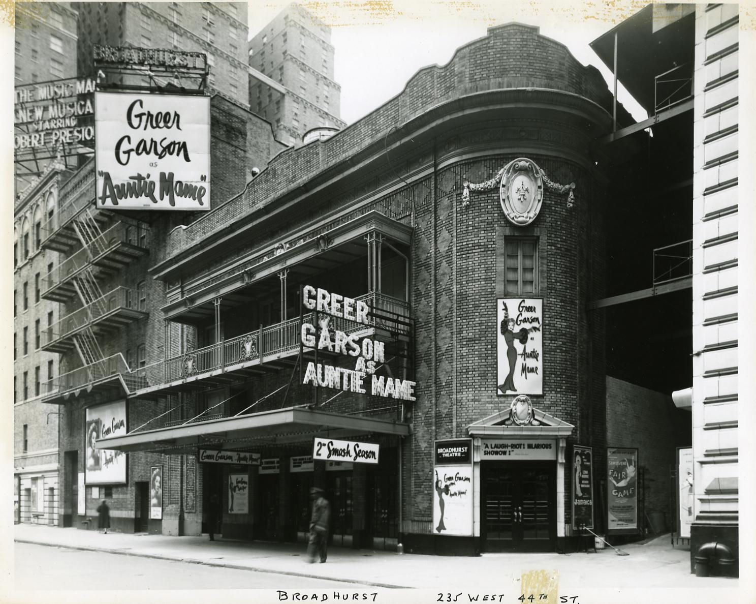 Broadhurst Theatre Shubert Organization