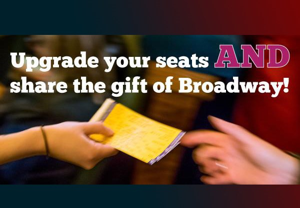 Upgrade your #Broadway experience with #BwayPlaysItFwd!