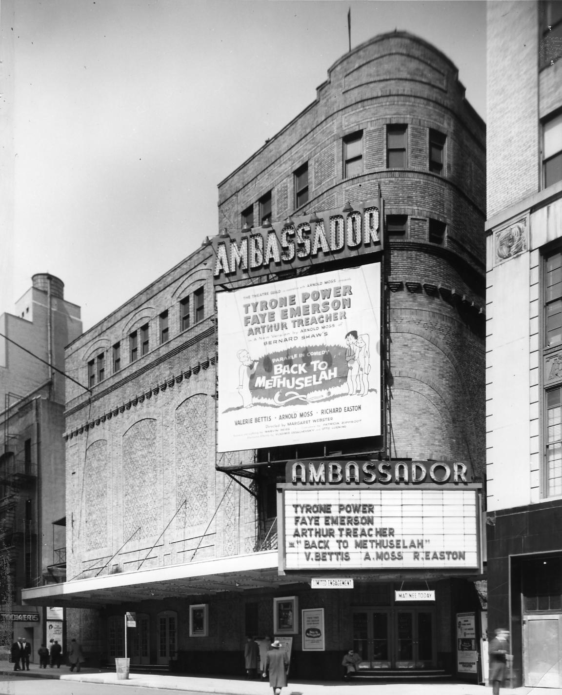 Ambassador Theatre Shubert Organization