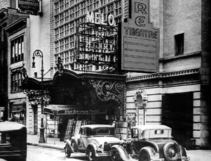 Barrymore Theatre Exterior, Melo, 1931.jpg