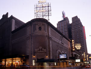 Booth Theatre Exterior with Shubert Alley, 45th Street.jpg