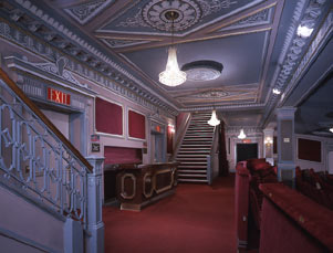 Gerald Schoenfeld Theatre Interior, back of the Orchestra.jpg