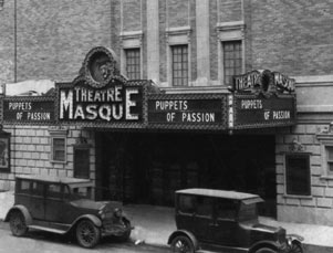 Theatre Masque (now Golden) Exterior, Puppets of Passion, 1927.jpg