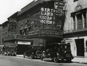 Imperial Theatre Exterior, Gertrude Lawrence in Oh, Kay!, 1926.jpg