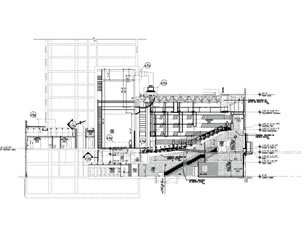 Architectural rendering, Little Shubert Theatre floor-plan, 2001.jpg