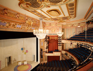 Longacre Interior, Stage, Orchestra, Mezzanine and Balcony.jpg