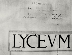 Architectural rendering of Lyceum sign, circa 1913.jpg