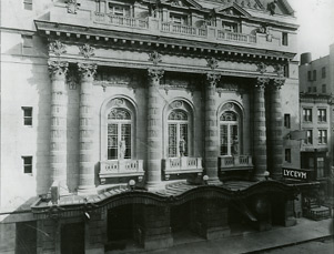 Exterior of the Lyceum, circa 1920.jpg