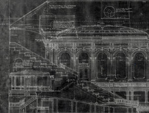 Architectural rendering, Majestic Theatre cross-section, 1926.jpg