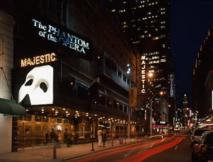 Majestic Theatre Exterior, The Phantom of the Opera, 44th Street.jpg