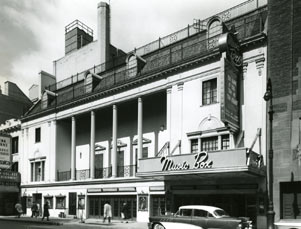 Music Box Theatre Exterior, The Dark at the Top of the Stairs, 1958.jpg