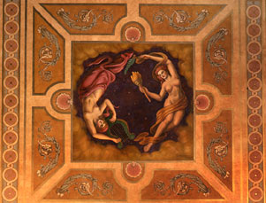 Architectural detail, Shubert Theatre ceiling mural.jpg