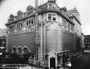Shubert Theatre Exterior with Shubert Alley, 44th Street, 1919.jpg