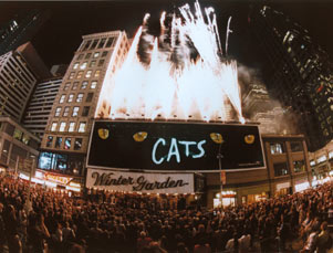 Celebration of record-breaking performance of Cats (#6138) on June 19, 1997.jpg