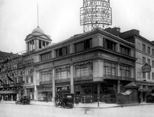 Winter Garden Theatre Exterior, The Honeymoon Express, 1913.jpg