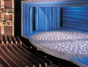 winter garden orchestra and stage mamma mia 2001jpg - Winter Garden Theater Nyc