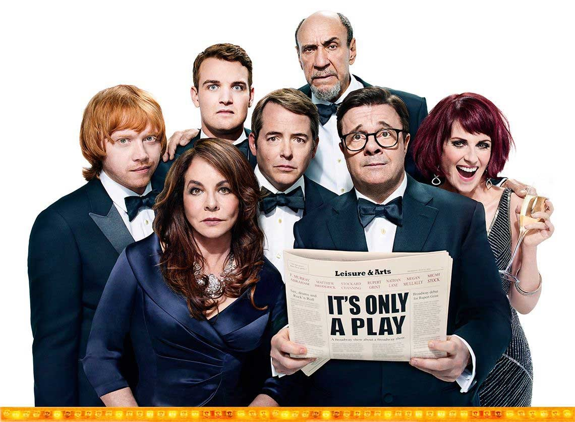 'It's Only a Play' breaks the all-time box office record at the Gerald Schoenfeld Theatre