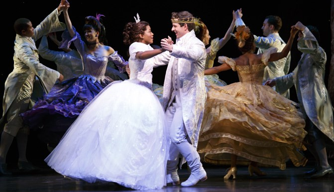 Final performance January 3rd for<br>Rodgers + Hammerstein's 'Cinderella'