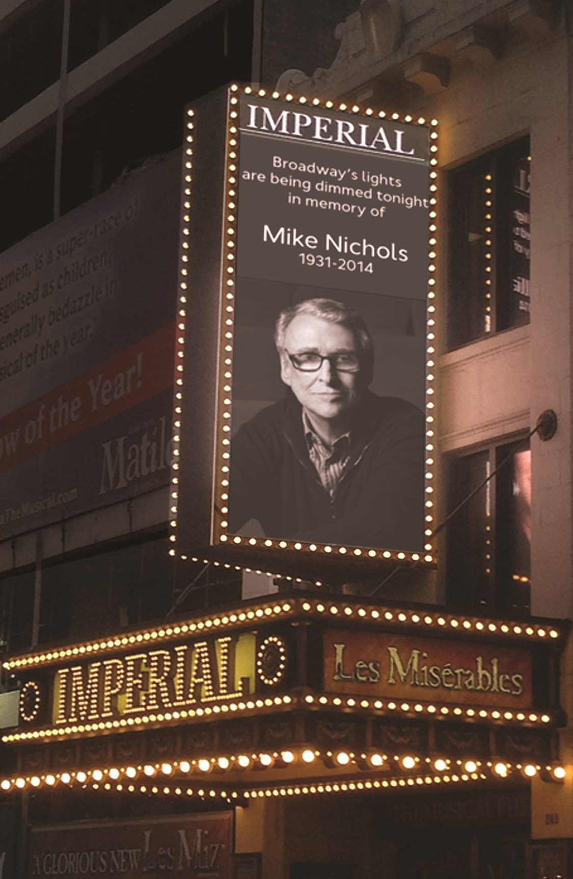 Broadway Honors Director Mike Nichols