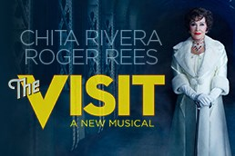 Chita Rivera stars in the new Kander and Ebb musical, 'The Visit'