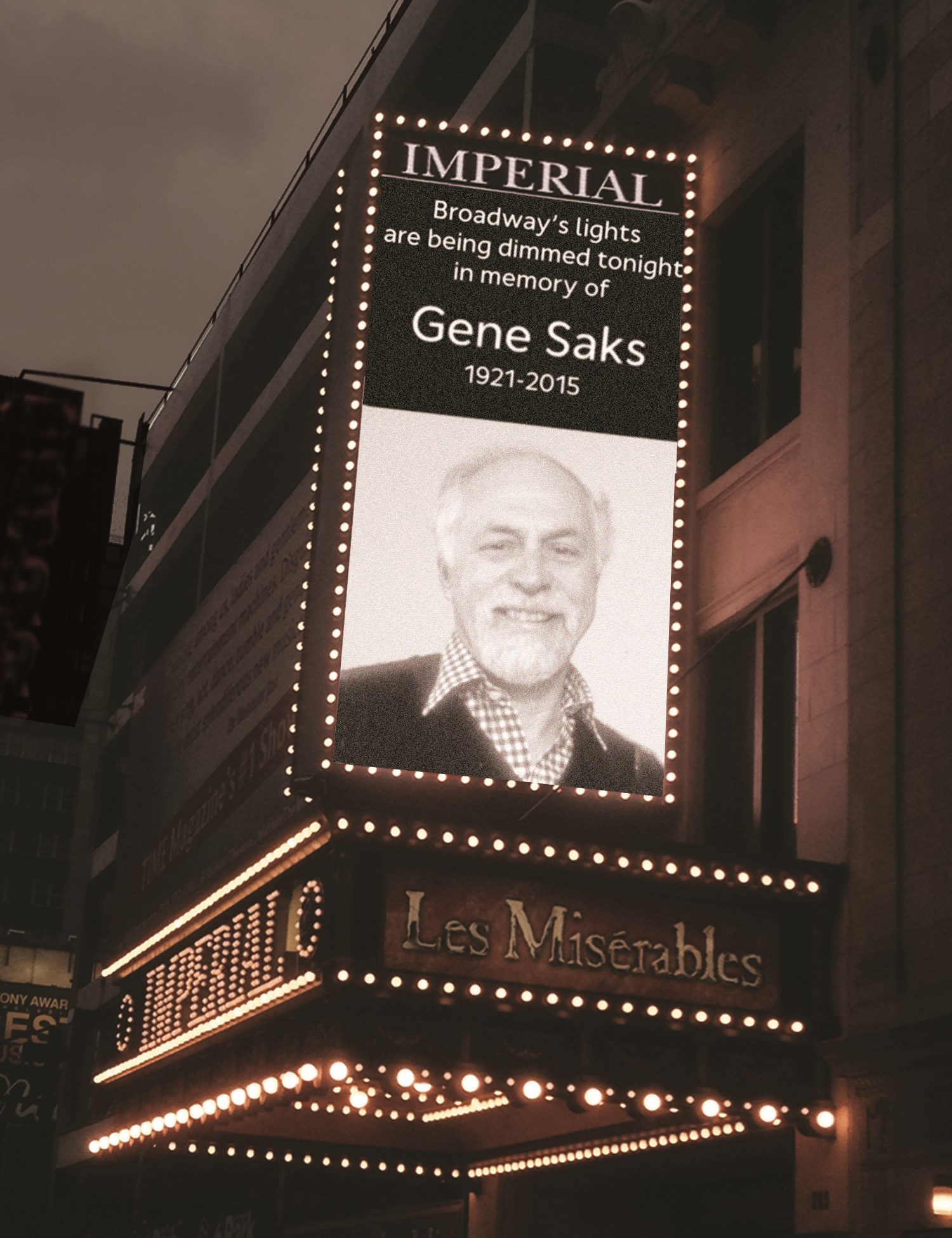 Broadway Honors Director Gene Saks