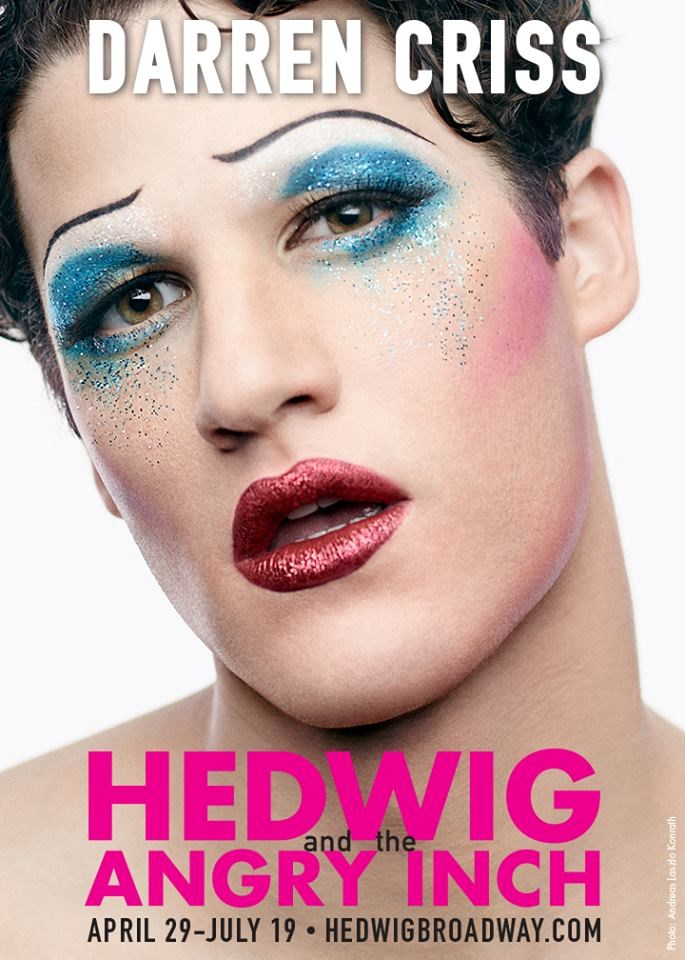 Darren Criss is Broadway's Next 'Hedwig'