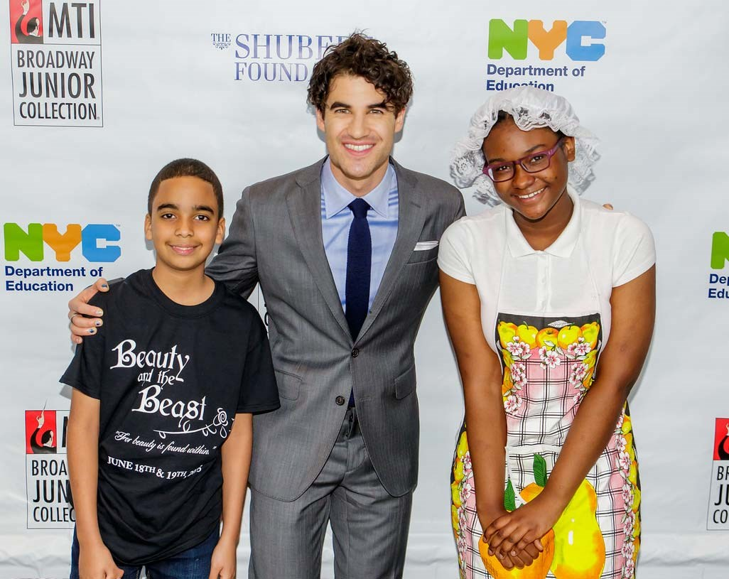 Host Darren Criss at the 2015 10th Anniversary Celebration of 'Broadway Junior'