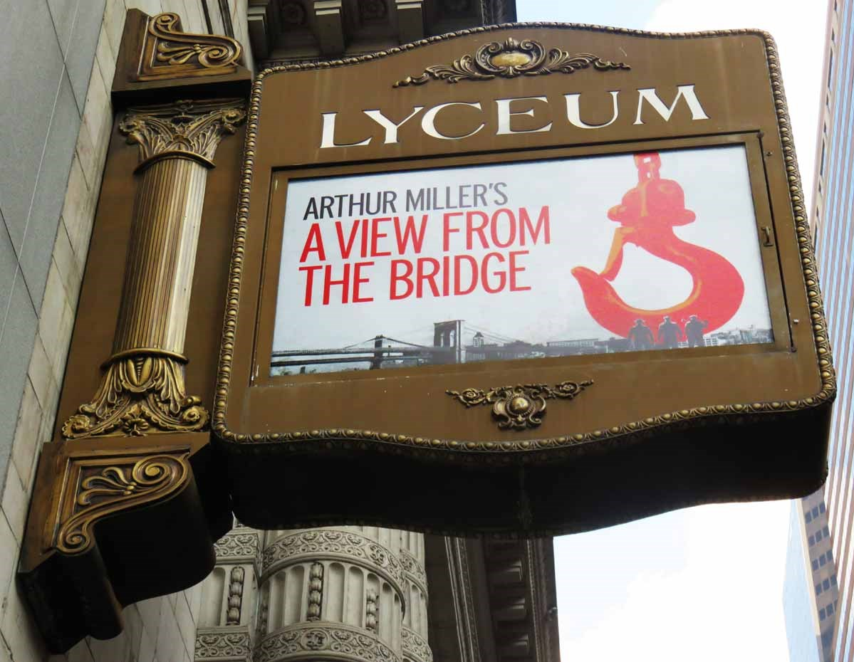 'A View from the Bridge' at the Lyceum