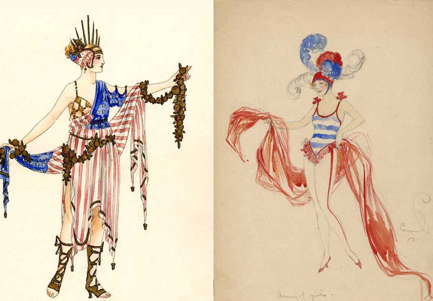 Costume Illustrations