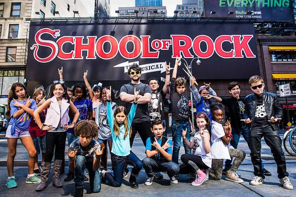 Complete Cast Announced for 'School of Rock - The Musical'