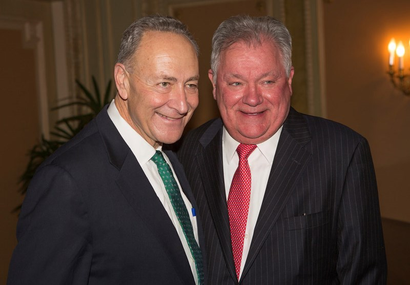 Chuck Schumer and Robert Wankel