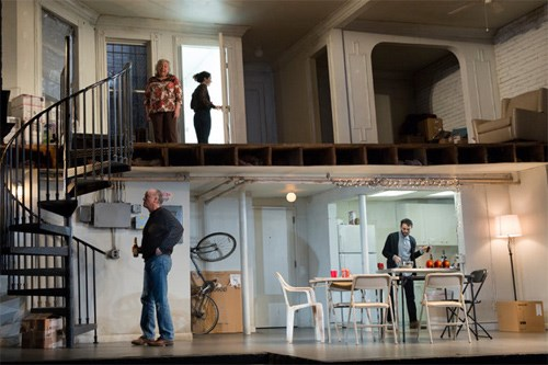 For The Humans Home Is Where The Set Moves Shubert