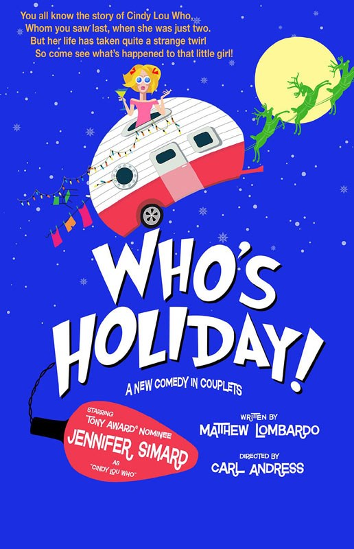 Whos Holiday Off Broadway Show Tickets Jennifer Simard