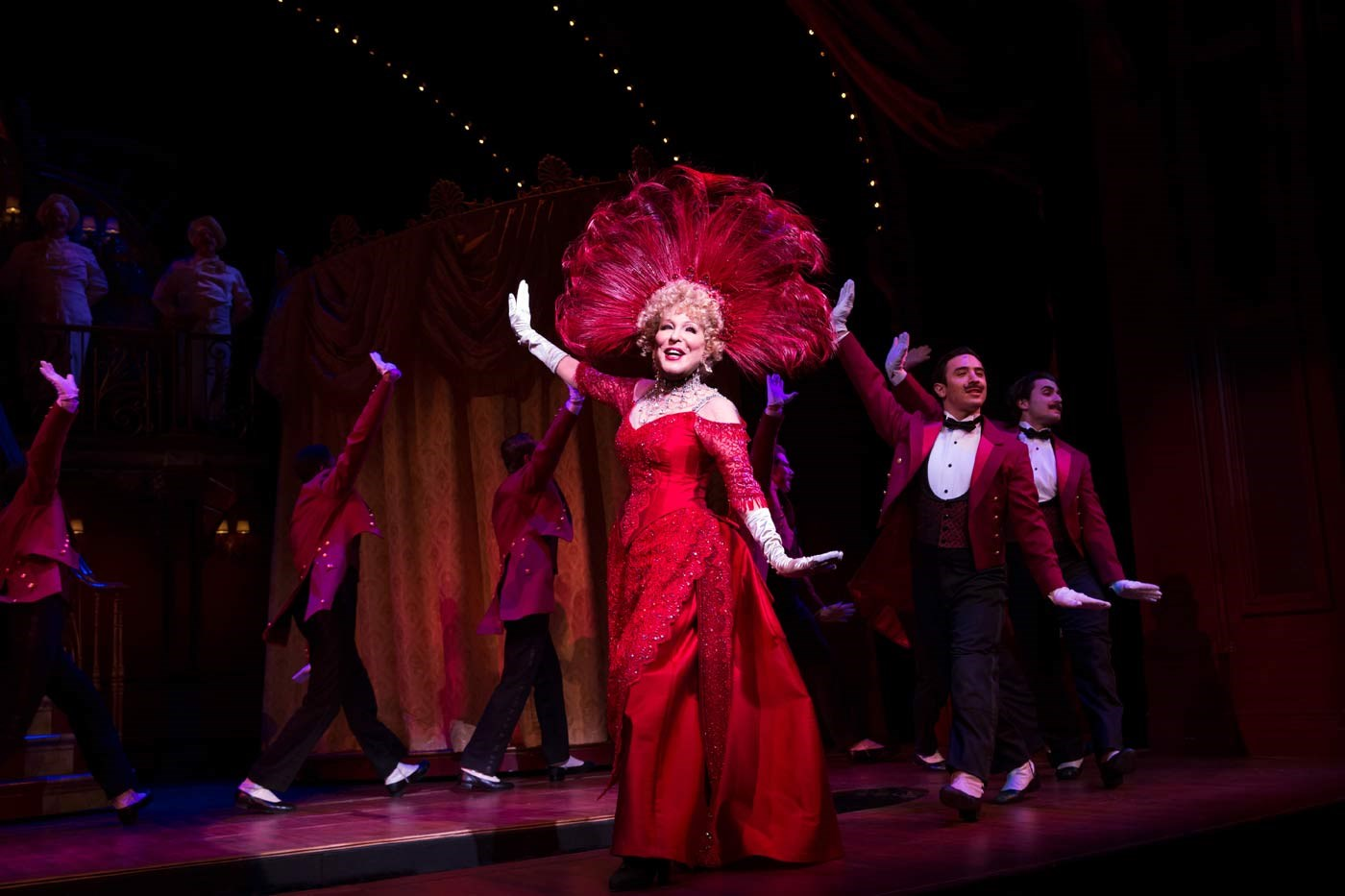 Bette Midler Gives Final Bow to Understudy Christian Dante White