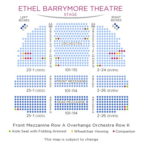 Barrymore Theatre Shubert Organization