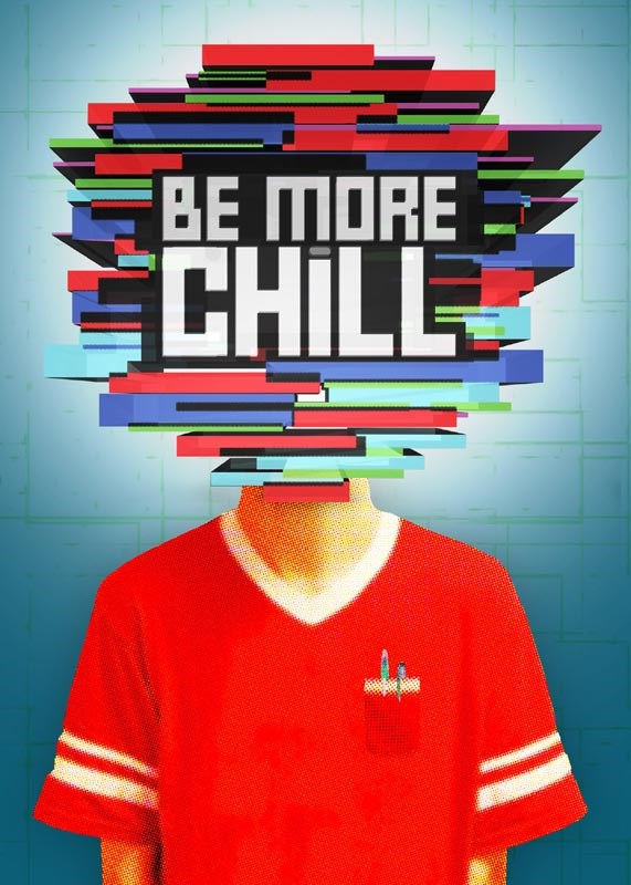 Be More Chill Broadway Show Logo