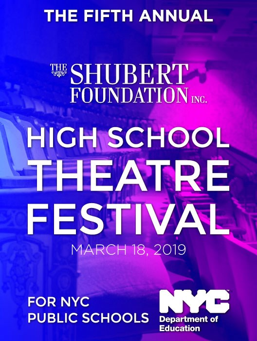 Shubert Foundation High School Theatre Festival