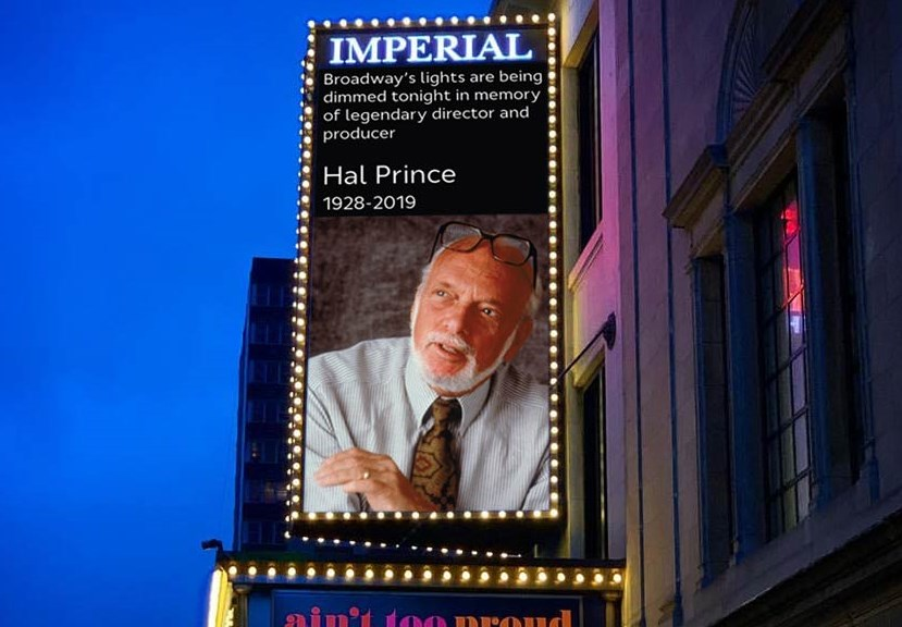 Imperial Theatre Dims the Lights for Hal Prince