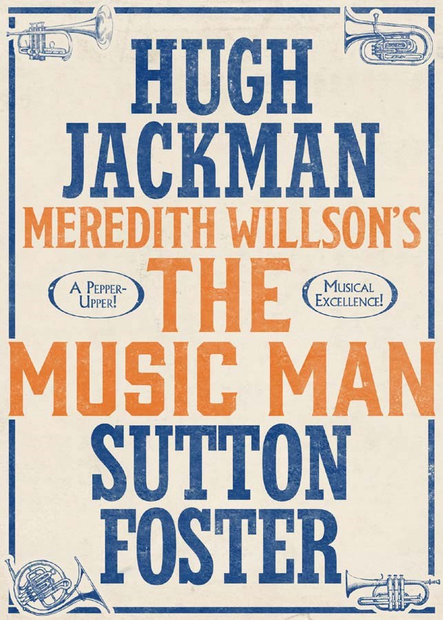 The Music Man Broadway Logo