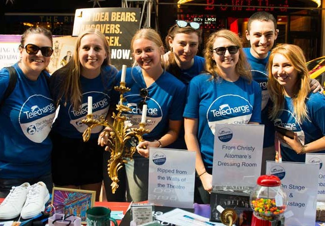 Shubert/Telecharge Team Raises $21,923 At Broadway Flea Market