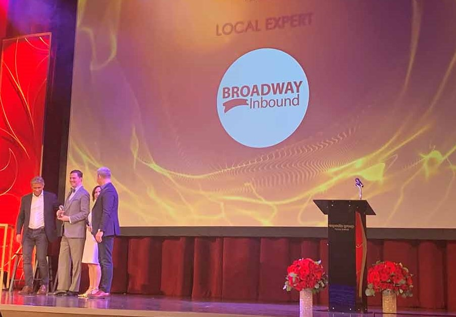 Broadway Inbound Receives Expedia EPIC Award