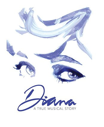 DIANA: A TRUE MUSICAL STORY Broadway Logo