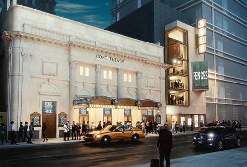 Shubert Releases Plans for Cort Theatre Restoration